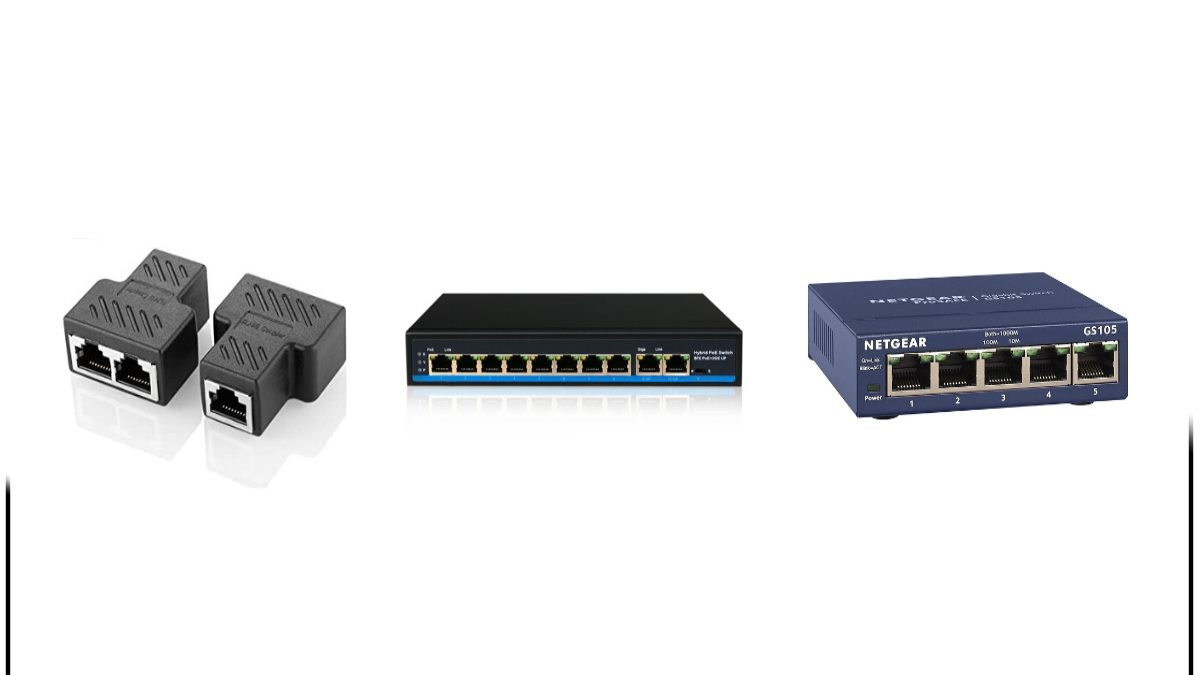 What is an Ethernet Splitter and Differences With a Switch or Hub