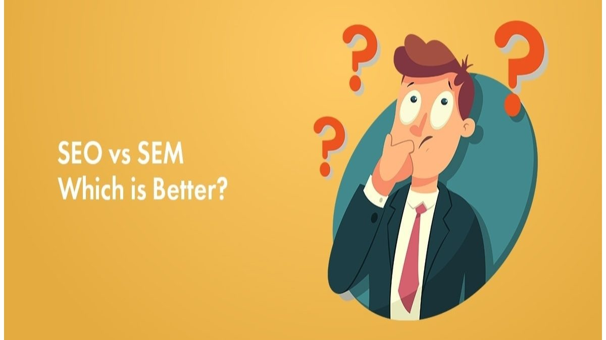 What are the differences between SEO and SEM