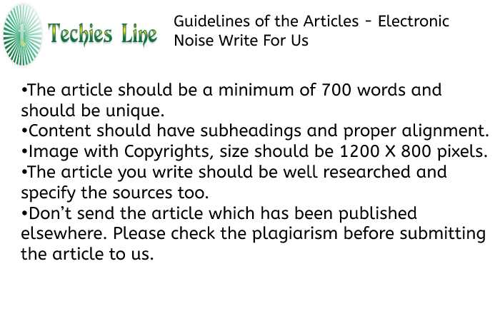 Techies Line Guidelines